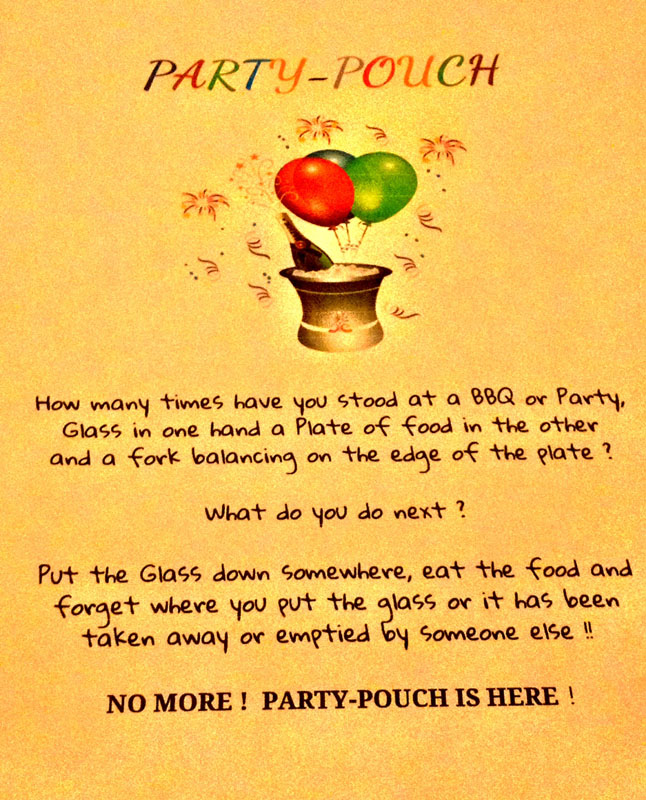 party pouch description